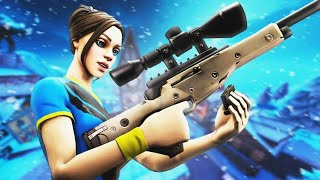 Semi-Auto Sniper is OP AF | Fortnite | Arena Duos With ~WiseTuber~ | We Get the W