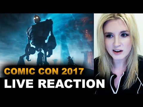 Ready Player One Comic Con Trailer REACTION
