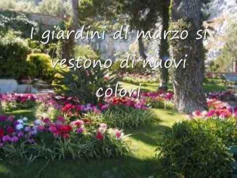 I giardini di marzo lucio battisti youtube - Immagini di giardini di villette ...