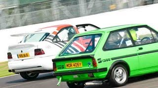 Fastest Turbo Drag Race 2 Black Mk3 Escort RS Turbo cosworth management built by OddKidd Creations.