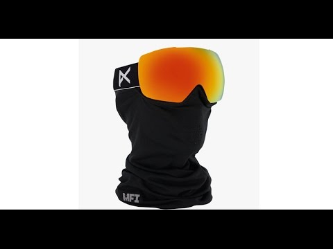 32c14378ff3 ANON Mig Goggles 2016 - MFI Integrated + Removeable Face Mask. Action Sport  Optics
