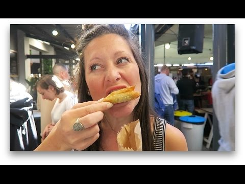 MARKET DAY | Eating in Cape Town
