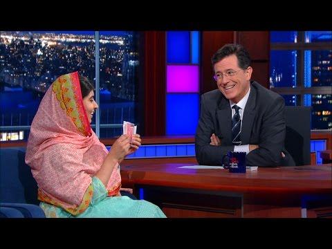 Malala Yousafzai & Stephen Do Card Tricks