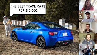 homepage tile video photo for Finding the Best Track Cars for $15,000: Window Shop with Car and Driver.