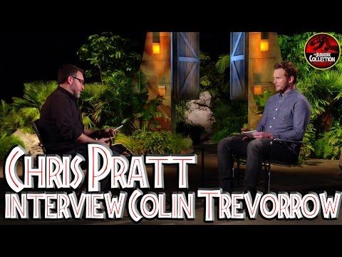 Jurassic World | CHRIS PRATT INTERVIEWS COLIN TREVORROW | Behind the Scenes