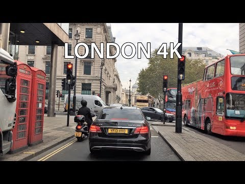 London Drive 4K - Monday Morning - UK