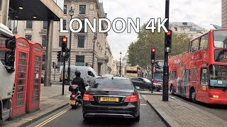 London Drive 4K - Monday Morning - UK