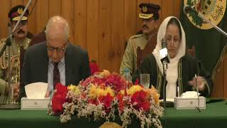 Justice Tahira Safdar takes oath as first woman chief justice of Balochistan HighCourt