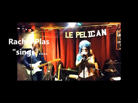 """Rachelle Plas and her Band play """"Bo Diddley"""" _ 12/05/2017 _ harmonica solo 3min33"""