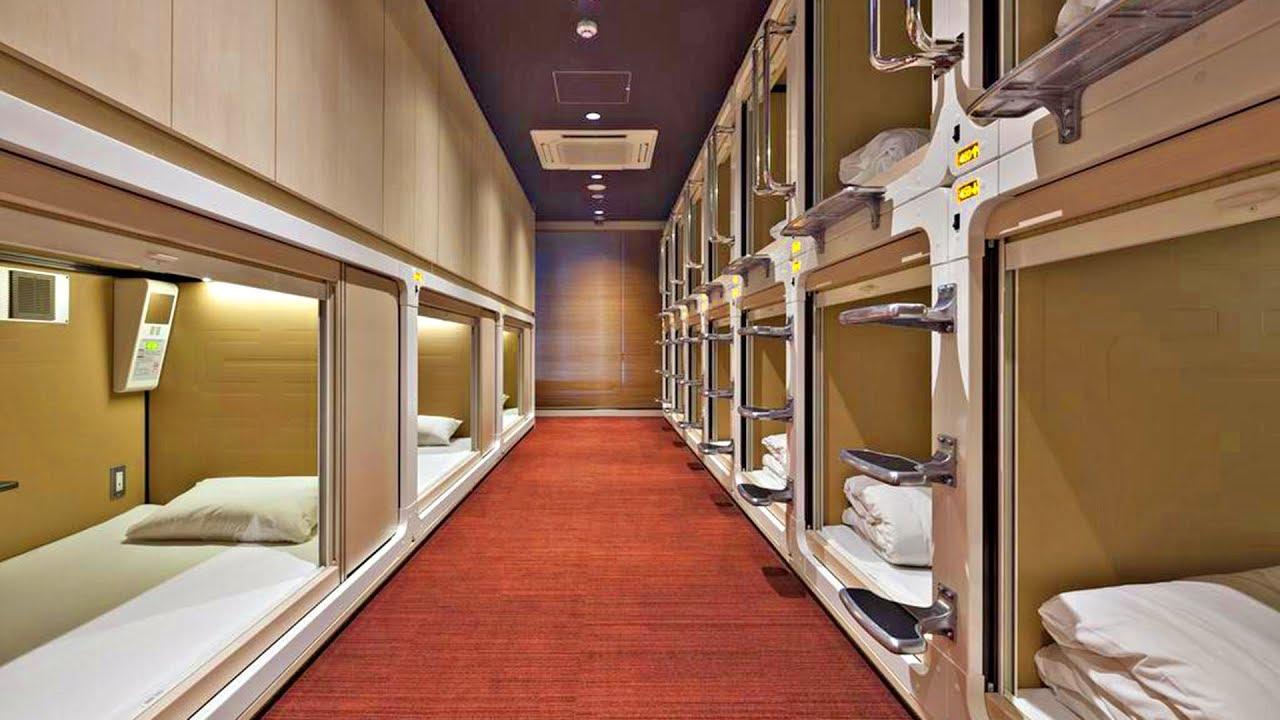 Japanese Capsule Hotel London | Japan Hotel Rates