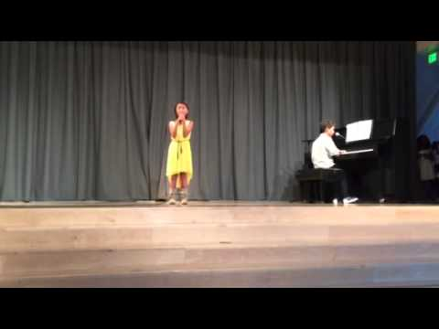 Sibling Kids Sing Piano Duet To Parents Wedding Song Ella Fitzgeralds The Very Thought Of You