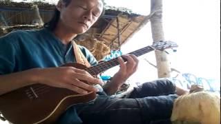 IMAGINE.(J.Lennon) Vietnam Chris Wilson ukulele.