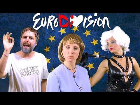 EuroDiVision - feat. Angela Merkel, Slavoj Žižek & IMF [RAP NEWS 31]