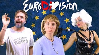 The EuroDiVision Contest - feat. Angela Merkel, Slavoj Žižek & IMF [RAP NEWS 31]