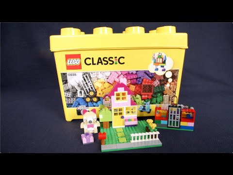 5d024aefe644 LEGO Classic Large Creative Brick Box from LEGO - YouTube