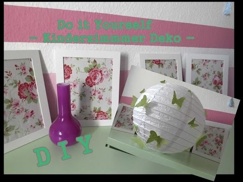 diy kinderzimmer deko do it yourself youtube. Black Bedroom Furniture Sets. Home Design Ideas