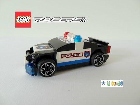 สอนต่อเลโก้รถตำรวจ ( วิดีโอรีวิวของเล่น เกมส์ต่อเลโก้)