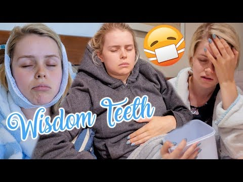 Video: Getting My Wisdom Teeth Removed VLOG!
