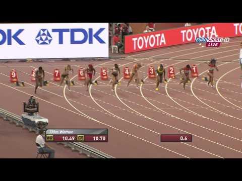 Dafne Schippers 10.83s NR 100m Beijing 2015 semi final world championships