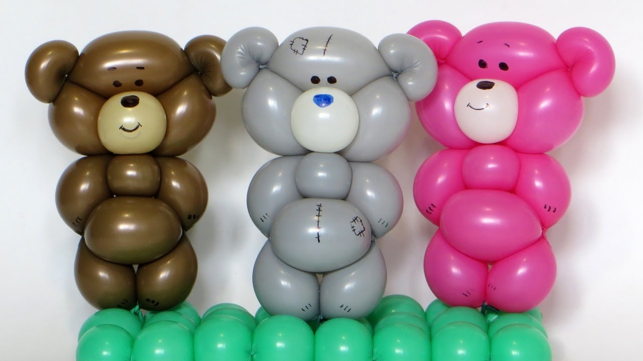 One balloon teddy bear for What can you make with balloons