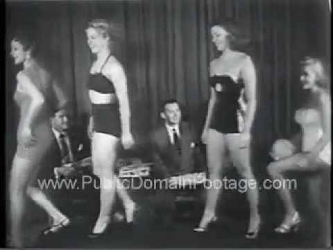 Miss Press Photographer Pageant at Waldorf Astoria Newsreel Footage PublicDomainFootage.com