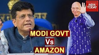 Piyush Goyal Clarifies 'Amazon Doing No Favour' Remark, Says Investments Welcome But Within Law