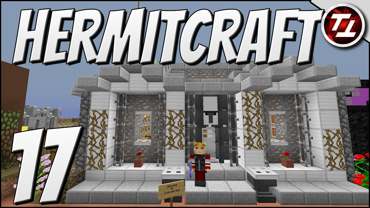 Iron Shop Minecraft Hermitcraft Iv 17 Iron For Sale