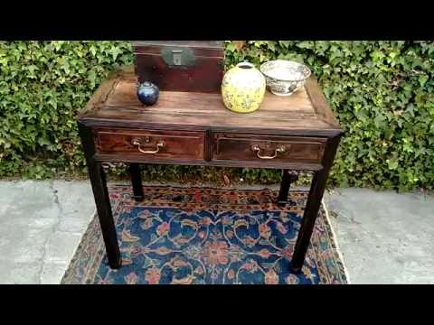 DREW STRIKES AGAIN! A Valuable Antique CHINESE CONSOLE TABLE, American Pickers