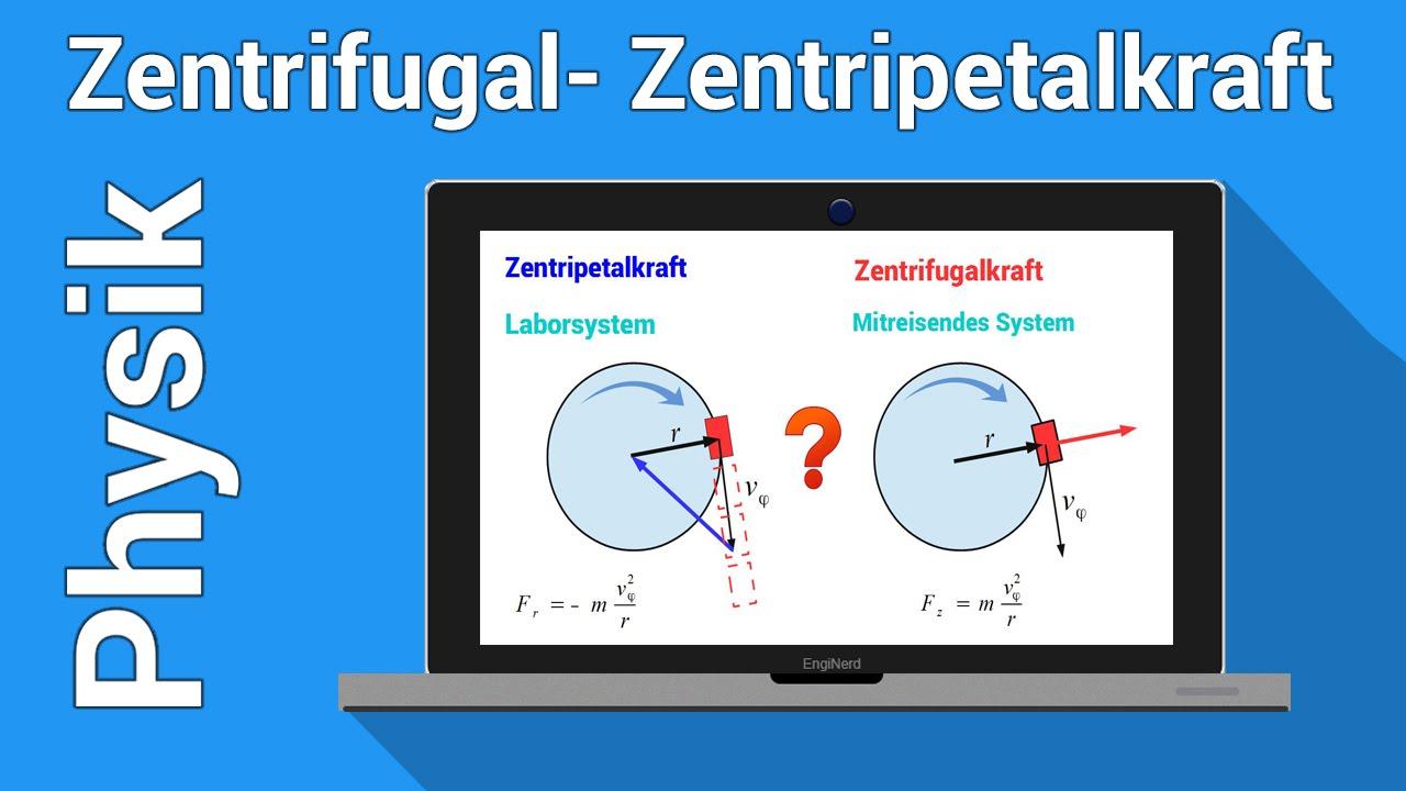 Zentrifugalkraft Zentripetalkraft Unterschied | Physik ...