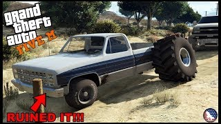 Gta 5 Roleplay - I Ruined My Brothers Square Body Chevy....  - Ep. 798 - Afg - Civ