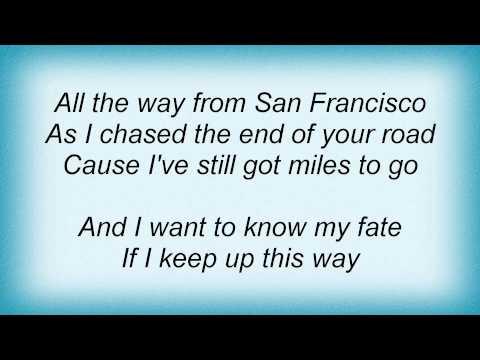 Death Cab For Cutie - Bixby Canyon Bridge Lyrics