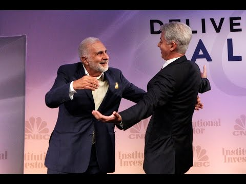 Carl Icahn & Bill Ackman FULL Joint Interview 2014