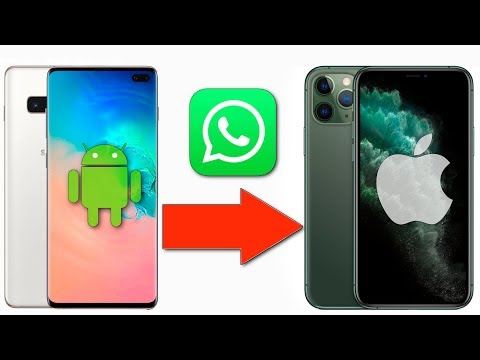 Как ЛЕГКО перенести чаты WhatsApp с Android на IPhone?