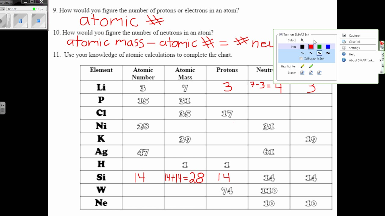 worksheet Atomic Particles Worksheet atomic basics worksheet youtube worksheet