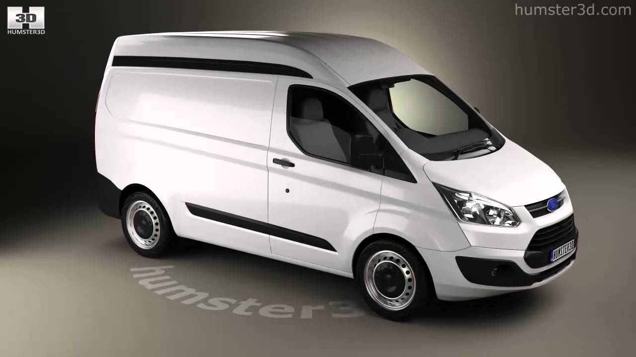 Ford Transit Custom Panel Van L1h2 2012 3d Model By