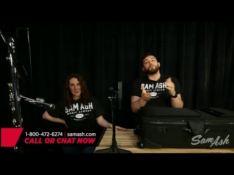 Sam Ash LIVE - Episode 39: Featuring a Pearl Contrabass Flute, Pearl Flutes, Powell Flutes