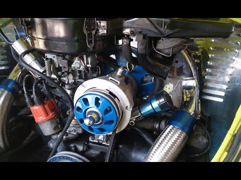 VW Beetle generator to alternator conversion - YouTube