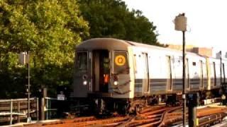 R68A (Q) train going into Coney Island yard