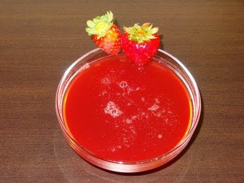 Receta: Almíbar o jarabe de fresa casero - ideal para calar en tartas