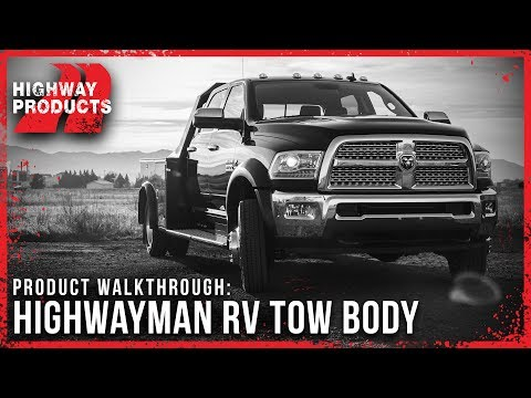 Highway Products | Highwayman RV Tow Body