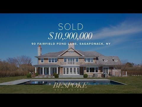 90 Fairfield Pond Lane Sagaponack - Hamptons Real Estate