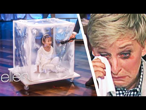 This Talented Kid Made Ellen Cry... After She Does This...