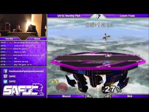 SAFGC 2016 Pilot - Muscat (Peach) vs Nick (Falco/Marth) - Grand Finals - SSBM