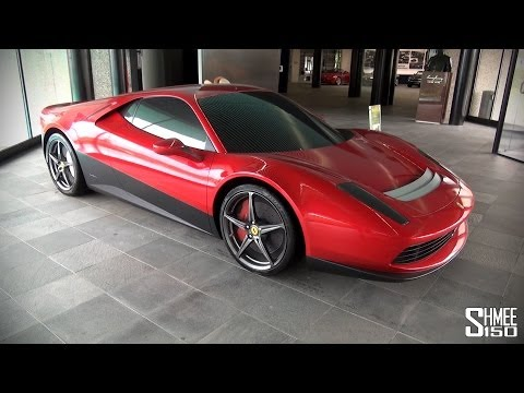 Pininfarina Showroom Tour - Ferrari SP12-EC, Sintesi and more