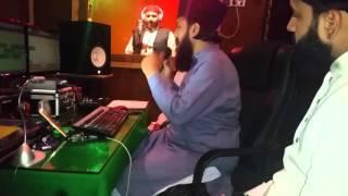Making Audio Recording Ghousia Studio Director Hakeem Amir Sultani
