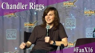 Chandler Riggs - The Walking Dead - Full Panel/Q&A - FanX 2016