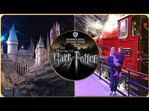 Музей Гарри Поттера в Лондоне! Warner Bros. Studio Tour London The Making of Harry Potter!