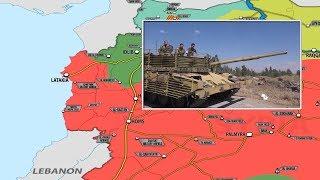 6 августа 2018. Военная обстановка в Сирии. Курдские формирования предложили помощь сирийской армии.