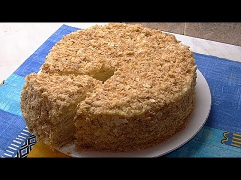 Торт 'Наполеон'.Быстрое слоёное