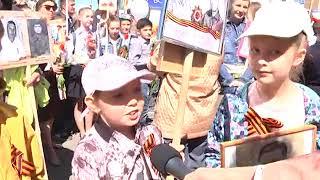 В День Победы по улицам Дубны прошел Бессмертный полк